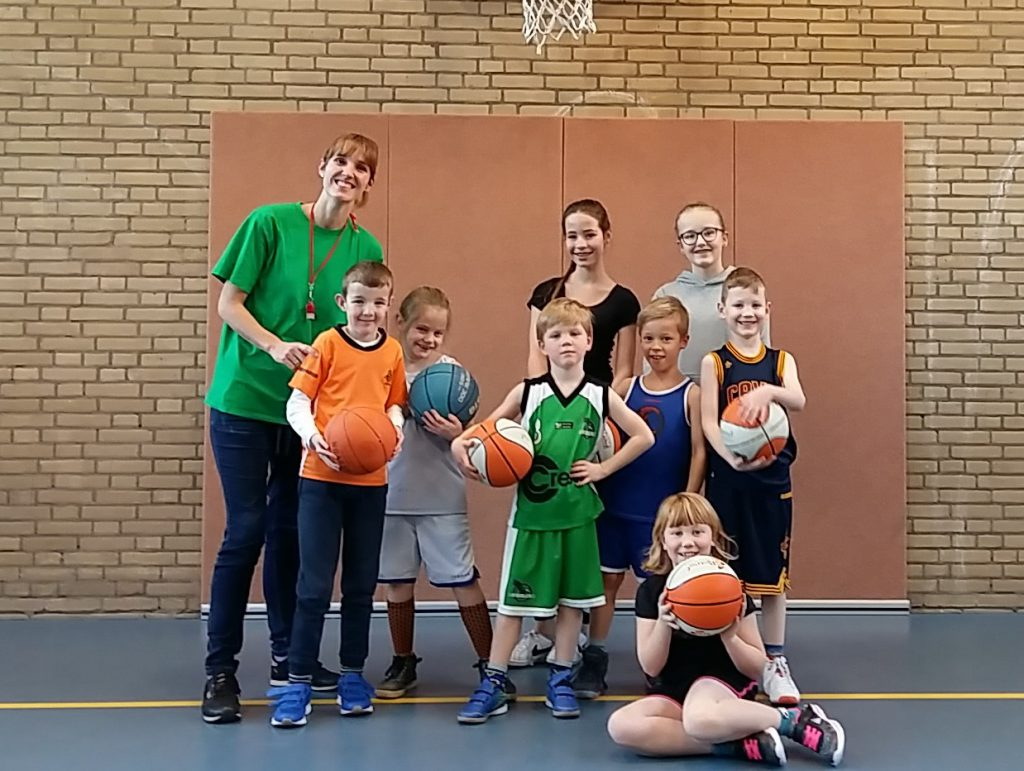 Jongste jeugd Green Eagles; Under 8