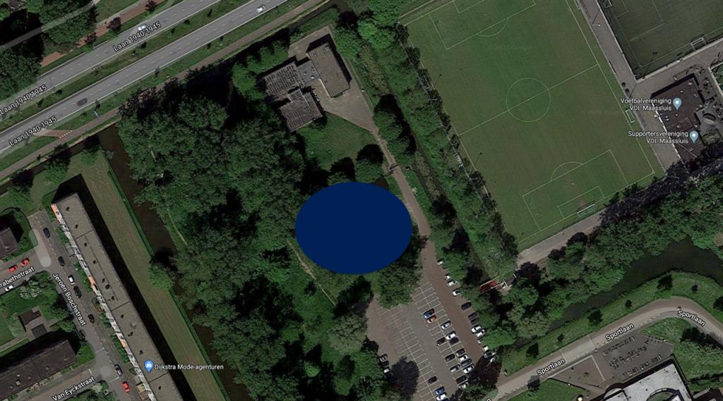 Verbeelding van locatie sportzaal